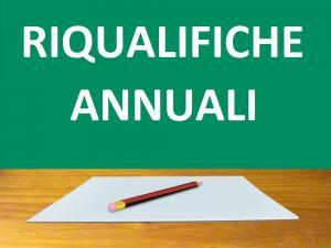 Riqualifiche annuali